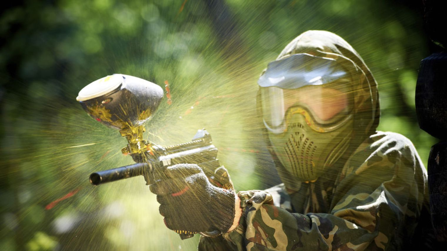 Ou jouer au Paintball au Pays Basque