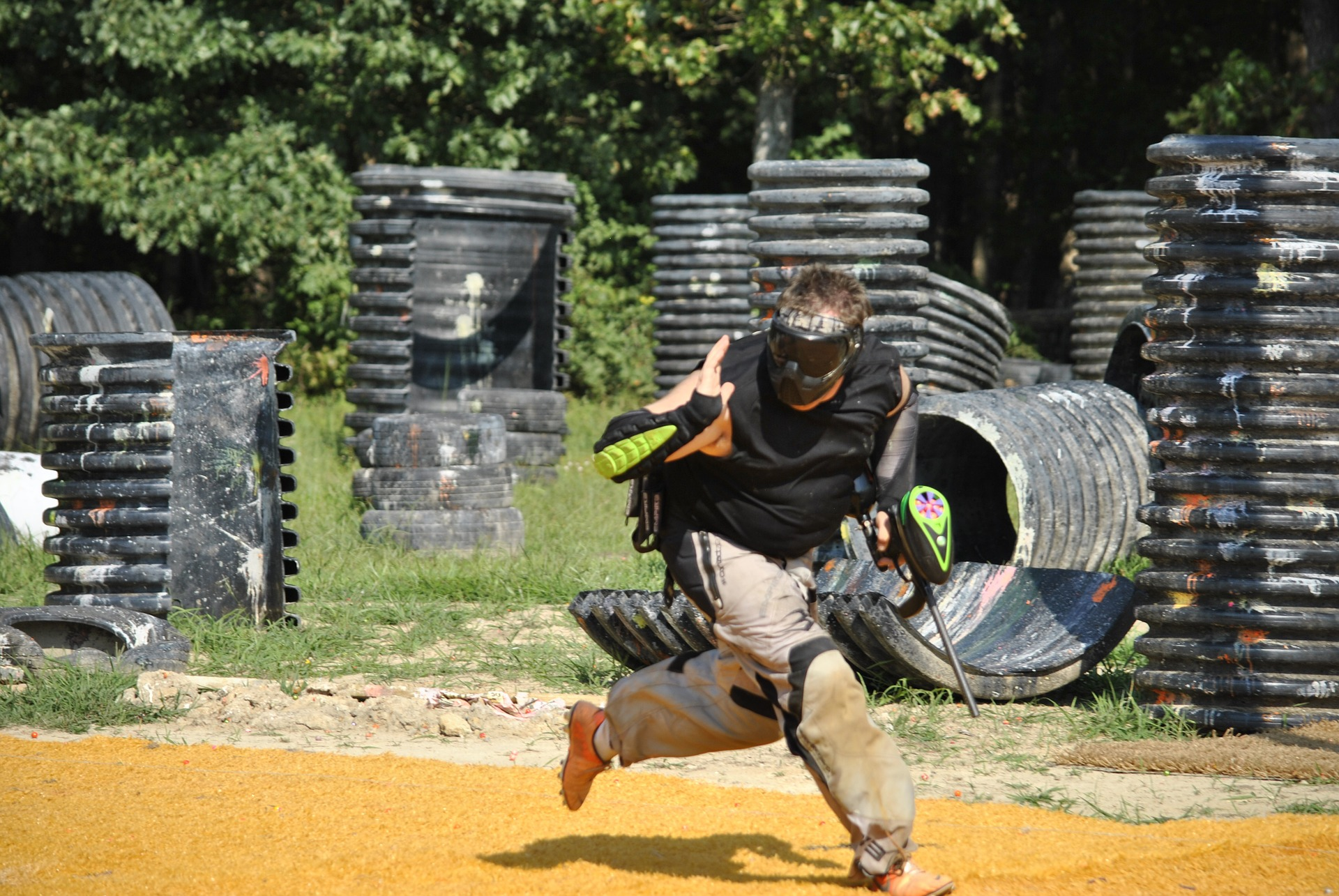 Paintball au Pays Basque
