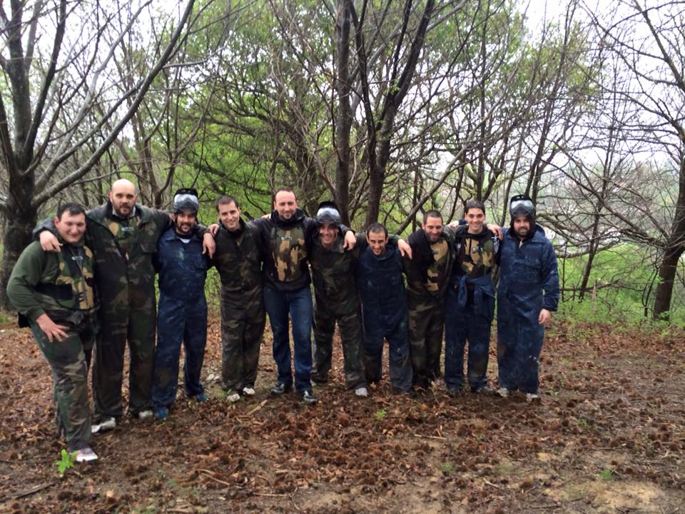 Paintball en groupe au Pays Basque
